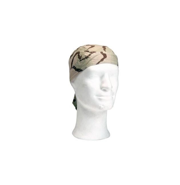 Pañuelo de cabeza, camo DESERT 3 colores