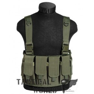 Chaleco Chest Rig, MAG CARRIER, verde OD