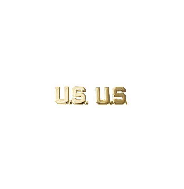 Insignia Oficial letras US