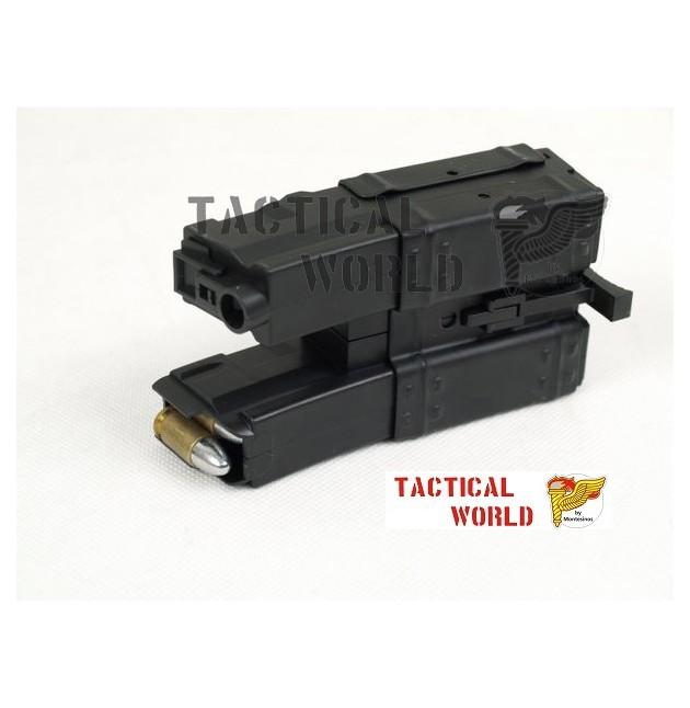 Cargador doble Hi cap MP5