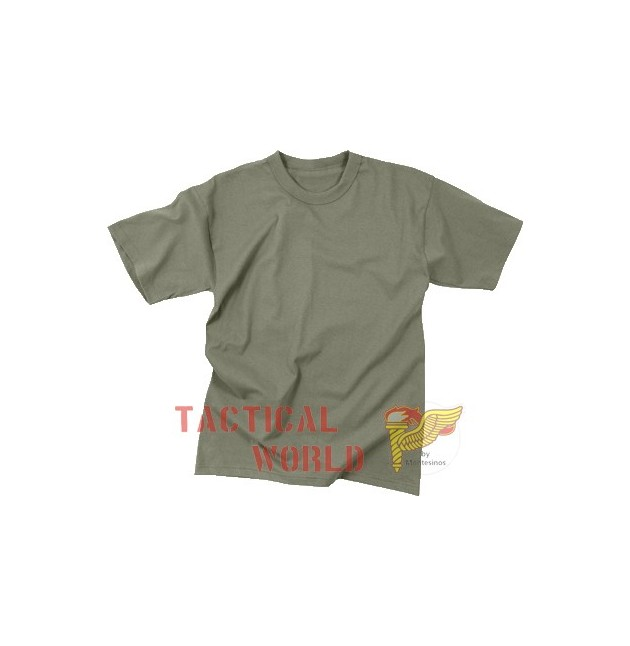 Camiseta Foliage Green, Talla S
