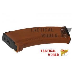Cargador Hi Cap AK 47, 500r marron
