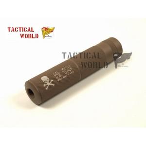 Silenciador corto M4 Calavera TAN