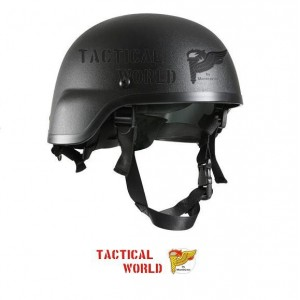 Casco MICH 2000, color negro