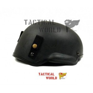 Casco MICH 2002, color negro