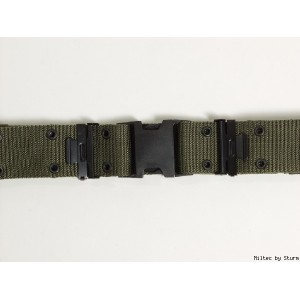 Cinturon US ARMY, color OD Green, verde