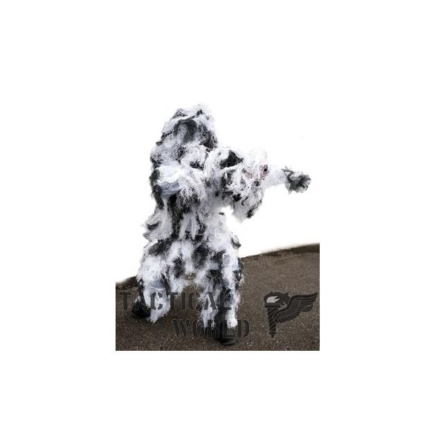 Guillie Suit, camo Snow, (nieve)