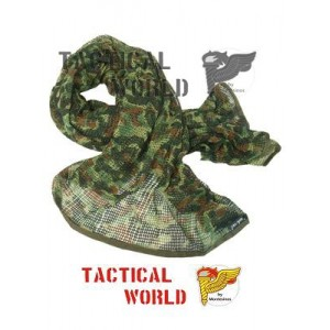Red de cuello 190x90. Camuflaje Flecktarn
