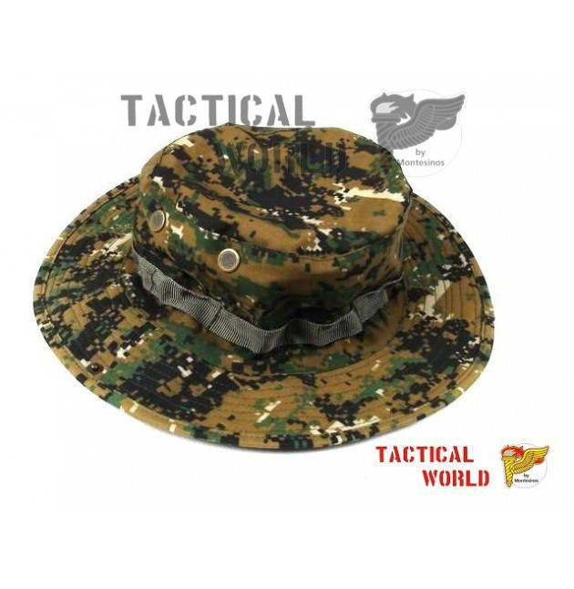 Boonie Hat, MARPAT, Digital Woodland, talla M