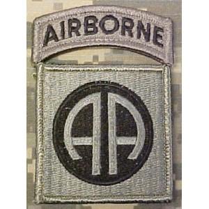 Parche 82 AIRBORNE, ACU