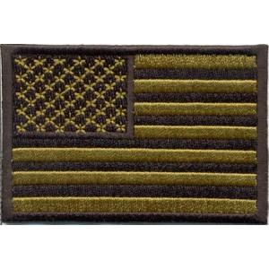 Bandera USA, Verde estrellas a izquierda