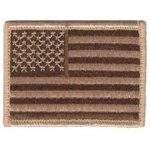 Bandera USA Desert, estrellas a izqda.