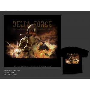 Camiseta MilPictures  DELTA FORCE