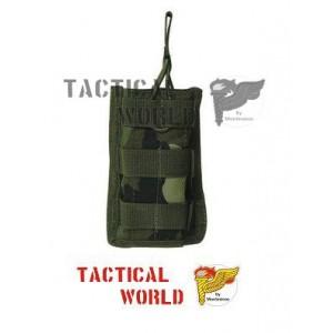 Portacargador Táctico M4, individual, woodland