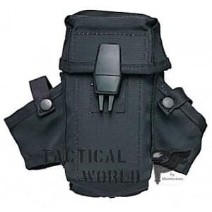 Portacargador M16. Color negro