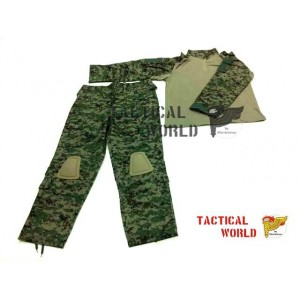 Uniforme COMBAT FROG suit, camo DIGITAL FOREST (Surpat)