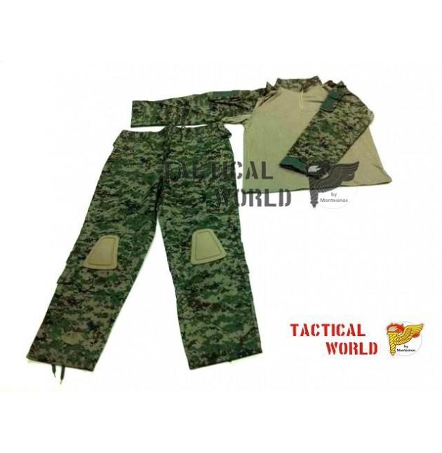 Uniforme COMBAT FROG suit, camo SURPAT