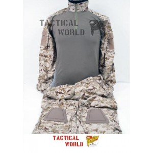 Uniforme COMBAT FROG suit, camo Digital Desert