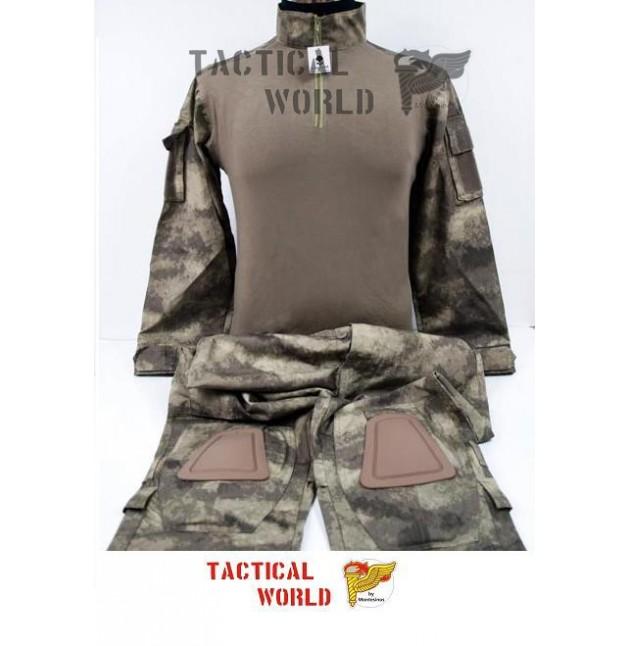Uniforme COMBAT FROG suit, camo ATACS