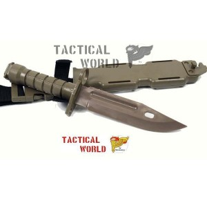 Bayoneta M9 A1,  dummy Desert