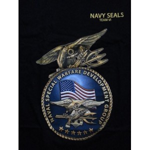 Camiseta US NAVY SEAL VI, color negro