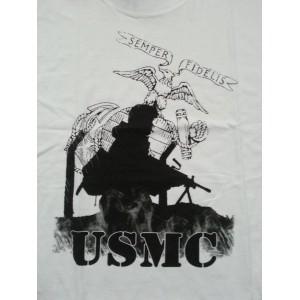 Camiseta USMC, blanco