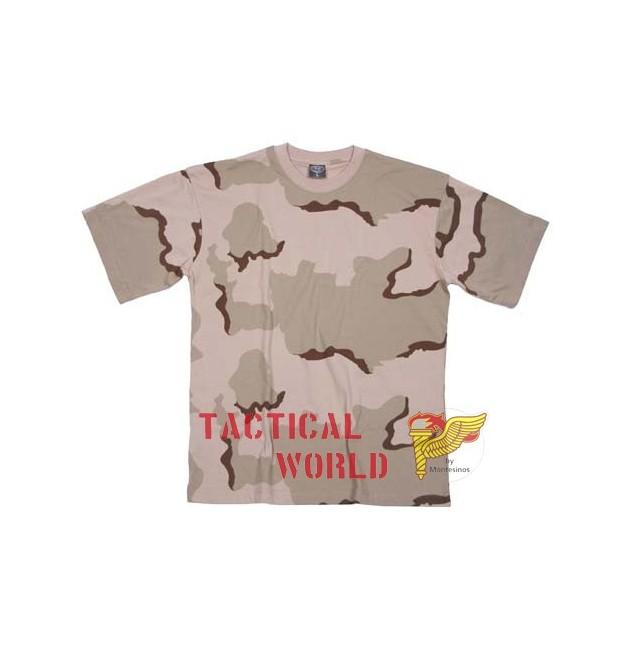 Camiseta Desert 3 colores, Talla S