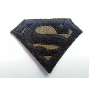 Parche SUPERMAN, verde/negro