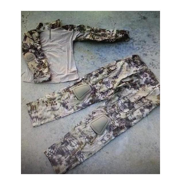 Uniforme COMBAT FROG suit, camo HLD