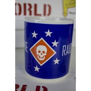 TAZA USMC RAIDERS, Azul