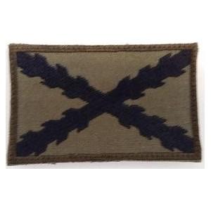 Bandera Borgoña Tercios, verde