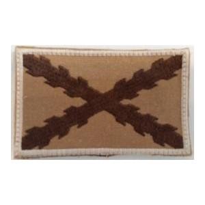 Bandera Borgoña Tercios, arido desert