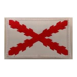 Bandera Borgoña Tercios blanco/rojo