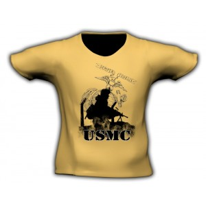 Camiseta USMC, desert TAN