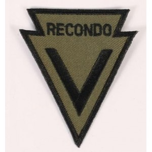 "PARCHE ""RECONDO"" VIETNAM, VERDE"