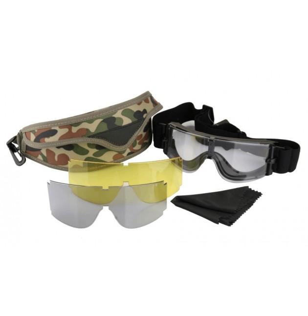 Gafas Tácticas, X800 Negro