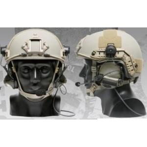 Adaptador rail casco COMTAC, negro