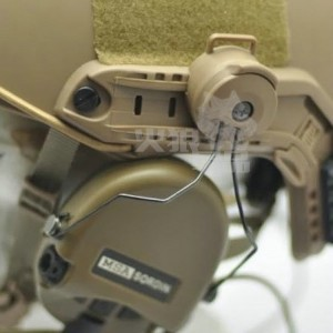 Adaptador rail casco COMTAC, Tan