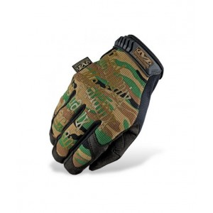 GUANTE MECHANIX ORIGINAL WOODLAND/NEGRO