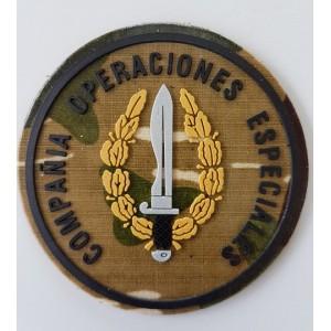PARCHE COE REDONDO ROCOSO/COLOR