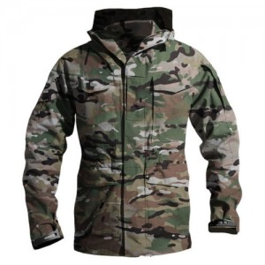 CHAQUETA TAD SOFT SHELL MULTICAM