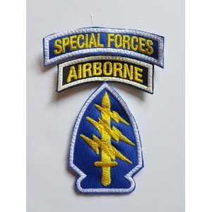 PARCHE SPECIAL FORCES / AIRBORNE COLOR