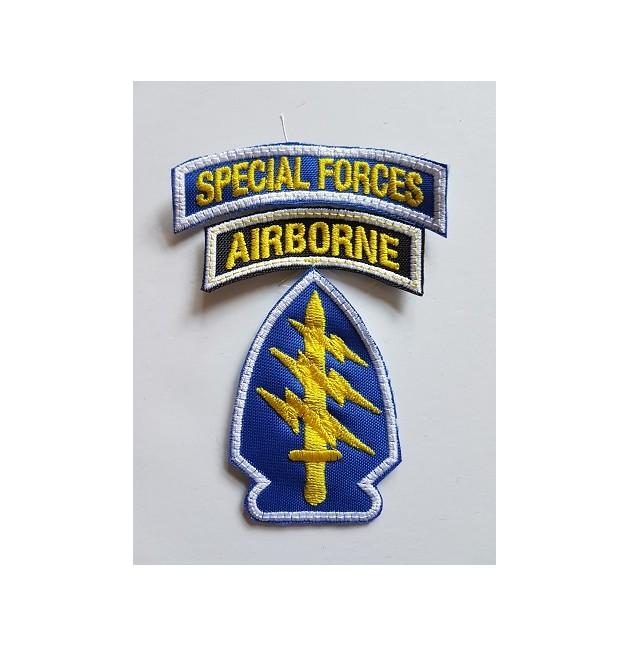 PARCHE SPECIAL FORCES / AIRBORNE COLOR