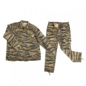 UNIFORME US JUNGLE FATIGUES VIETNAM, TIGER STRIPE