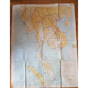 MAPA ORIGINAL US ARMY EPOCA VIETNAM