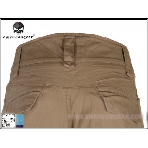 PANTALON TACTICO COMBAT EMERSON, COYOTE