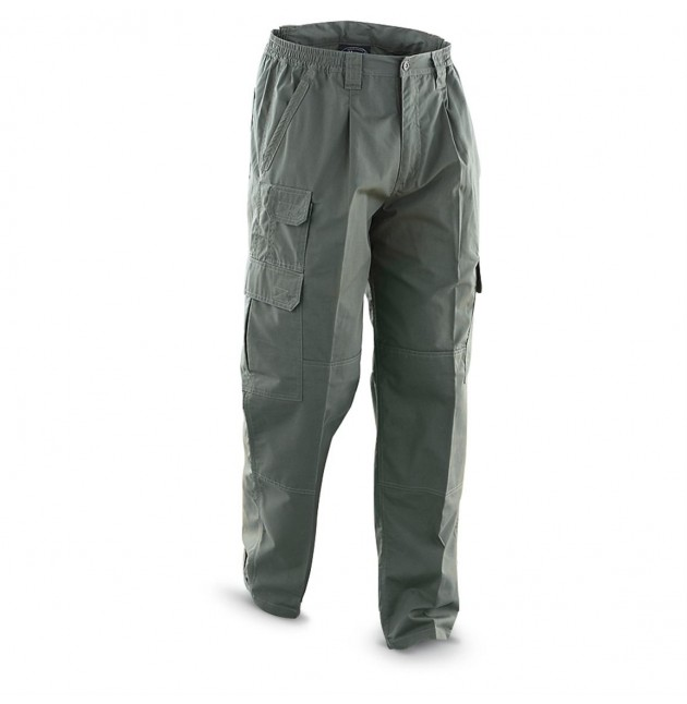 Pantalon SECURITY PMC OPERATOR, color VERDE, Talla S