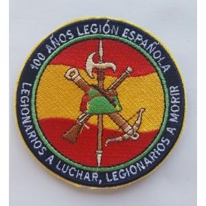 PARCHE 100 AÑOS LEGION ESPAÑOLA