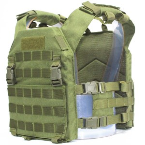CHALECO CONQUER PLATE CARRIER VERDE