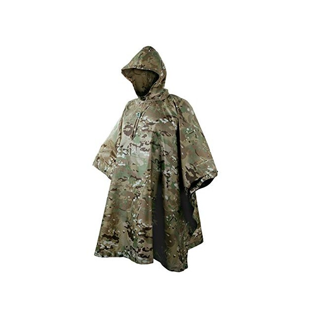 PONCHO RIP STOP MULTICAM